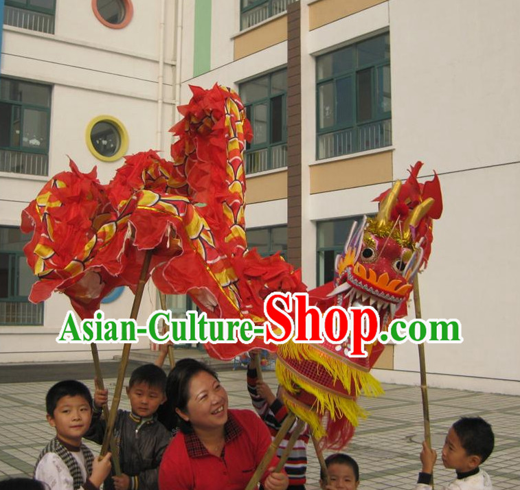 Red Dragon Masks Costumes for Kids