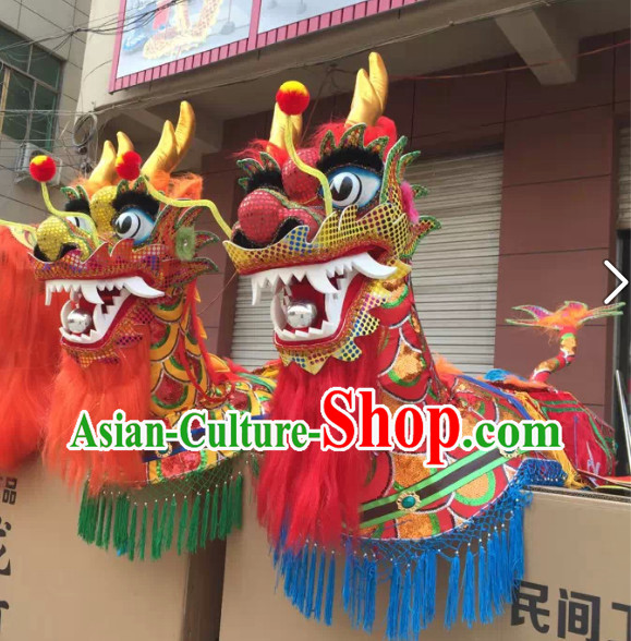 Chinese New Year Parade Dragon Lantern Boat Props