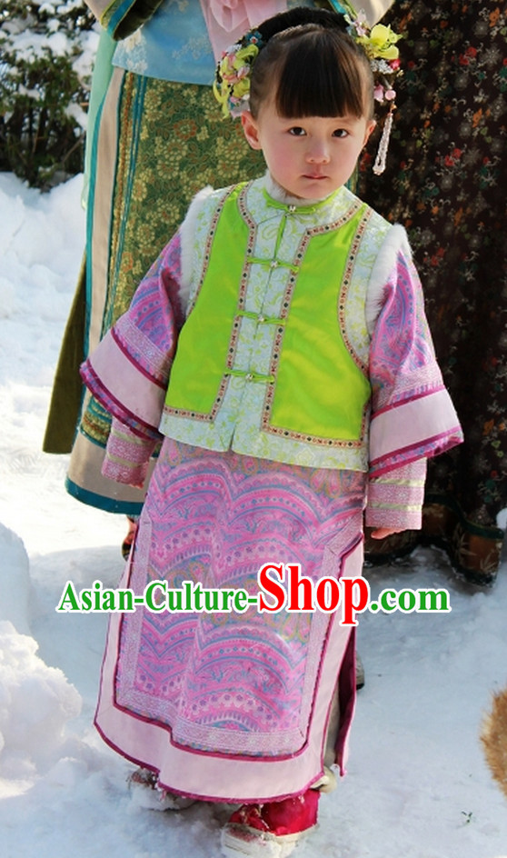 Chinese Princess Clothing for Kids