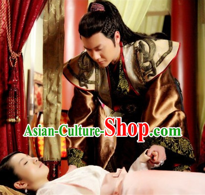 Chinese Beautiful Man Hanfu Clothing Complete Set