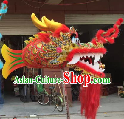Chinese New Year Parade One Person Dragon Lantern Props