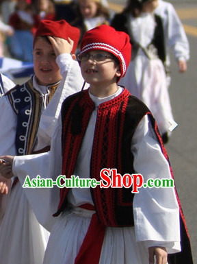 Classical Kids Greek Costumes Complete Set
