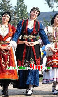 Womens Greek Costumes Complete Set