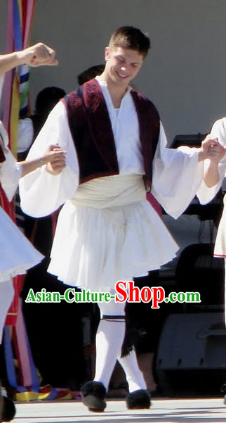 Male Greek Costumes Complete Set