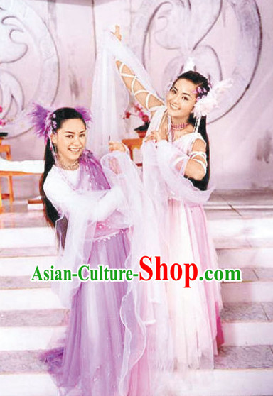 Ancient Chinese Fairy Costumes for Women