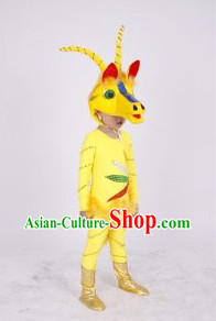 Chinese Spring Festival Celebration Sheep Dance Costumes