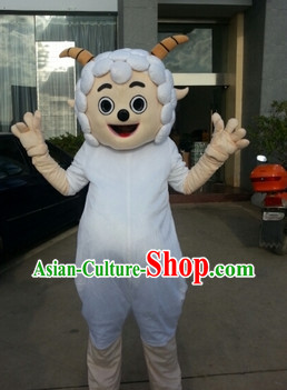 Chinese New Year Celebration Sheep Mascot Costume Complete Set for Adults