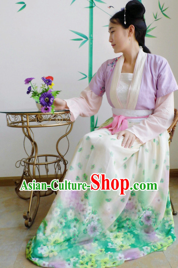 Asian Dress Spring Clothes Complete Set for Women