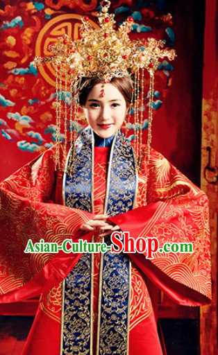 Chinese Wedding Costumes for Women
