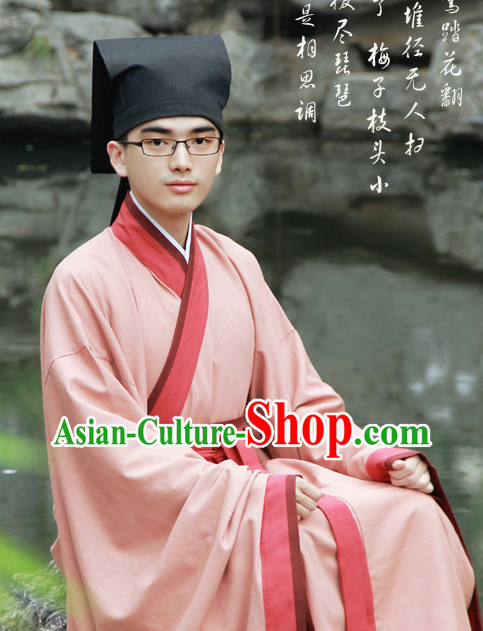Asian Dress Chinese Dress up Clothing for Men