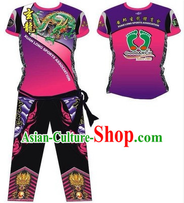 Chinese Dragon and Lion Dancers Uniforms