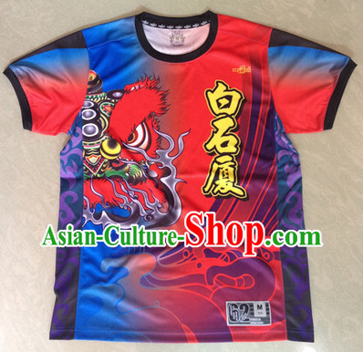 Chinese Dragon and Lion Dancers Garment