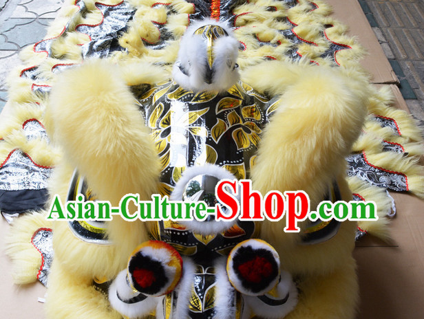 Chinese Lion Mascot Costume