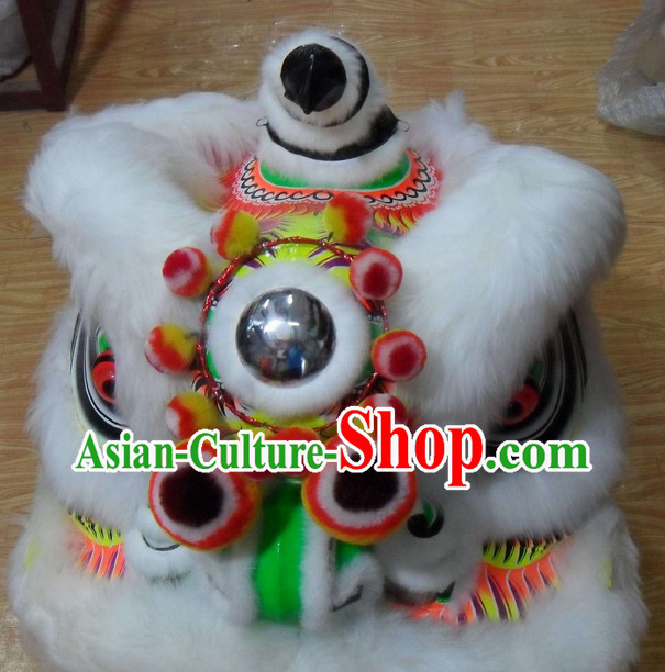 Chinese Lion Mascot Costumes Complete Set