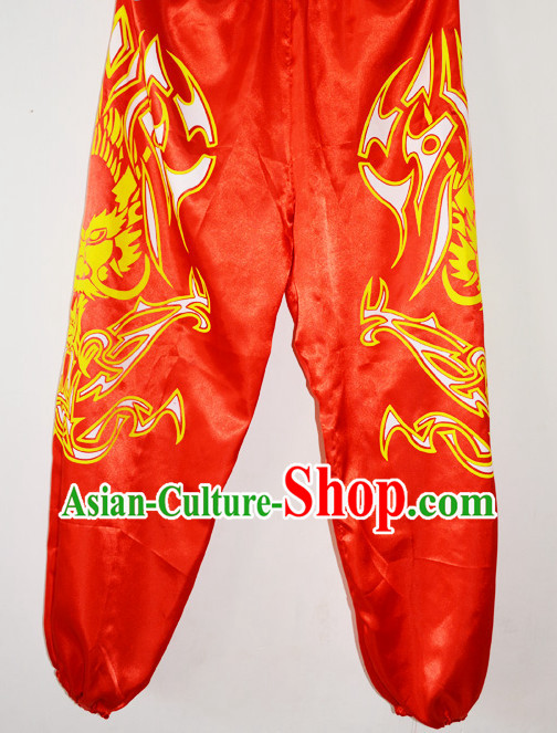 Professional Silk Lion Dancing Pants