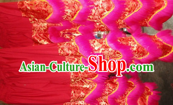 Professional Silk and Wool Lion Dancing Pants
