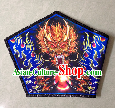 Professional Silk and Wool Lion Dance Legs Wrappings