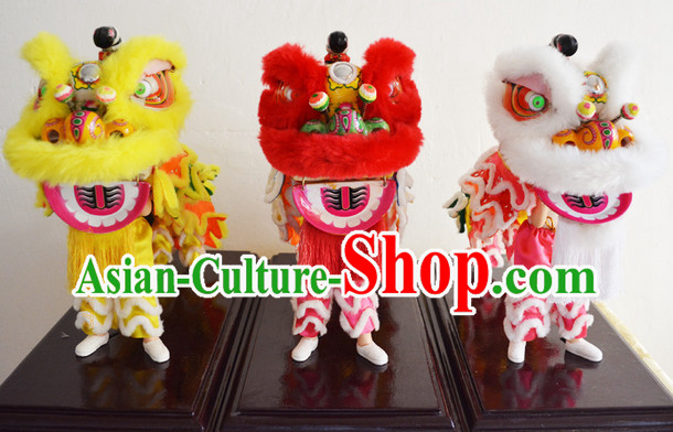 Chinese Handmade Lion Display Arts