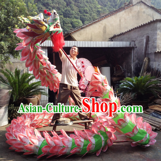 Chinese New Year Lotus Dragon Equipments Complete Set