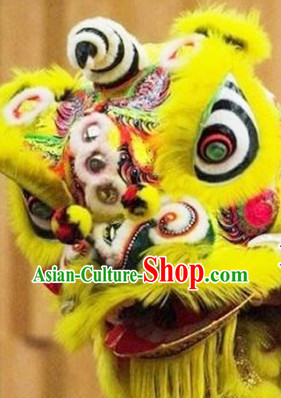 Asian Lion Costume Complete Set