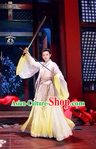 Chinese Classical Swordsman Clothing Complete Set