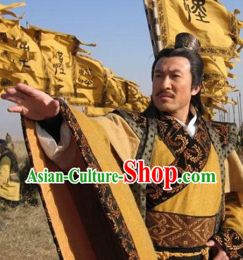 China Ancient King Robe and Headwear