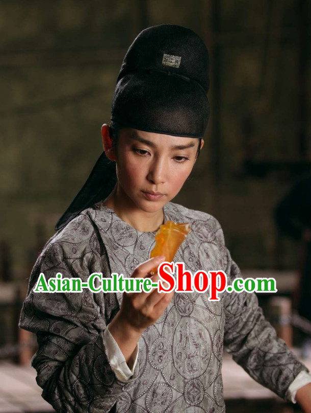 China Tang Dynasty Detective Suit and Hat
