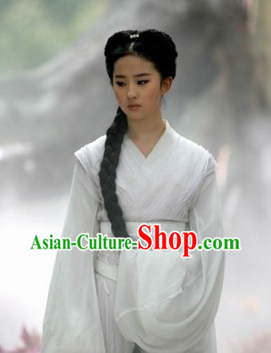 China White Adult Fairy Costumes for Women
