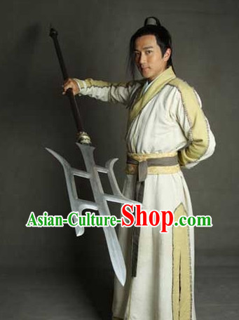 Ancient Swordsman Clothing Complete Set for Boys