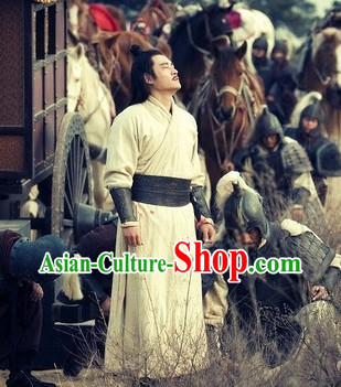 Traditional Kung Fu Master Uniform Complete Set for Men