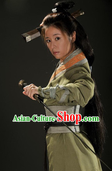Three Kingdoms Sun Shangxiang Heroine Clothing Complete Set
