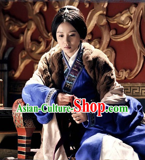 Chinese Ethnic Minority Noblewoman Clothes