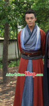 Chinese Classic Male Hanfu Asian Fashion online Complete Set