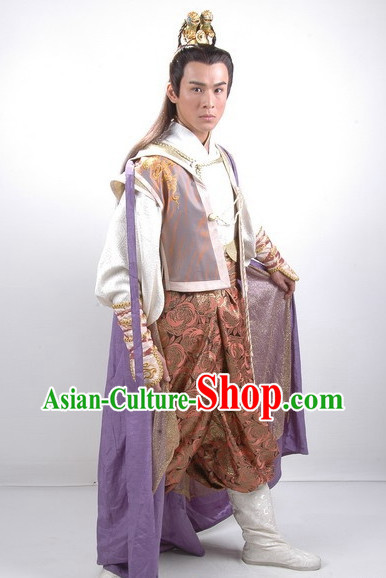 Infanta Chinese Dramaturgic Gowns and Robes for Men