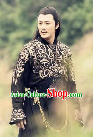 Ancient Chinese Swordsmen Adult Halloween Costumes