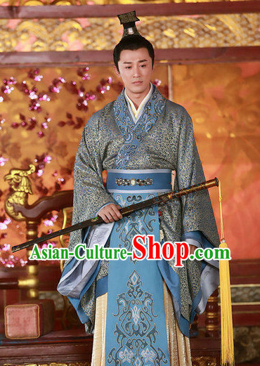 Chinese Traditional Infanta Clothing for Men
