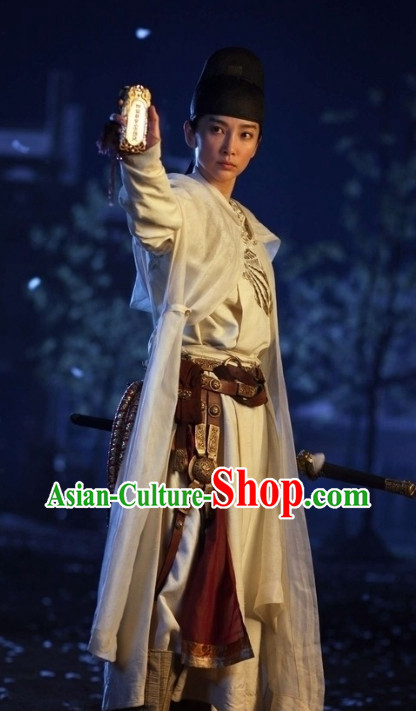 Tang Dynasty Traditional Chinese Bodyguard Hanfu Dress