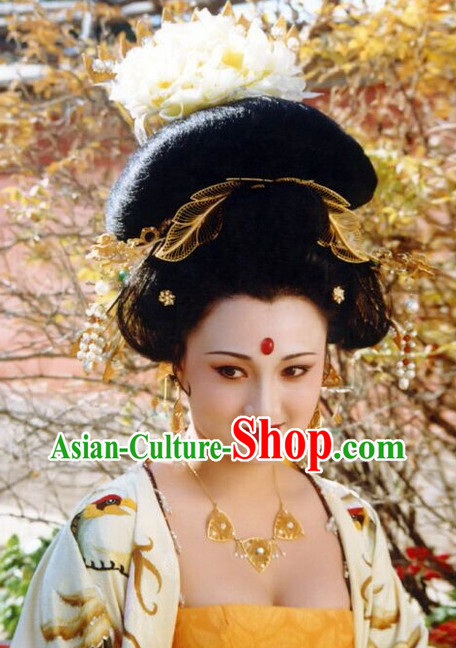 Traditional Chinese Empress Wig and Hair Accessories