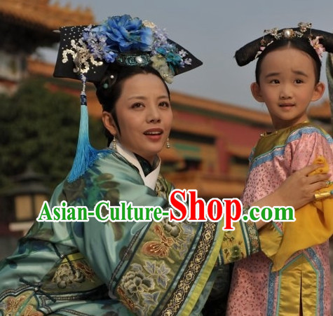 Chinese Classical Palace Royal Empress Hair Accessories Set