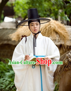 Korean Classical Scholar Film Hanbok Costumes