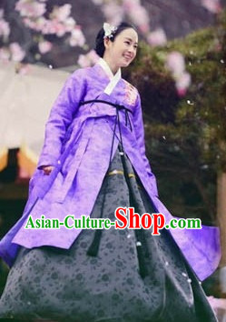 Ancient South Korean Princess Costumes