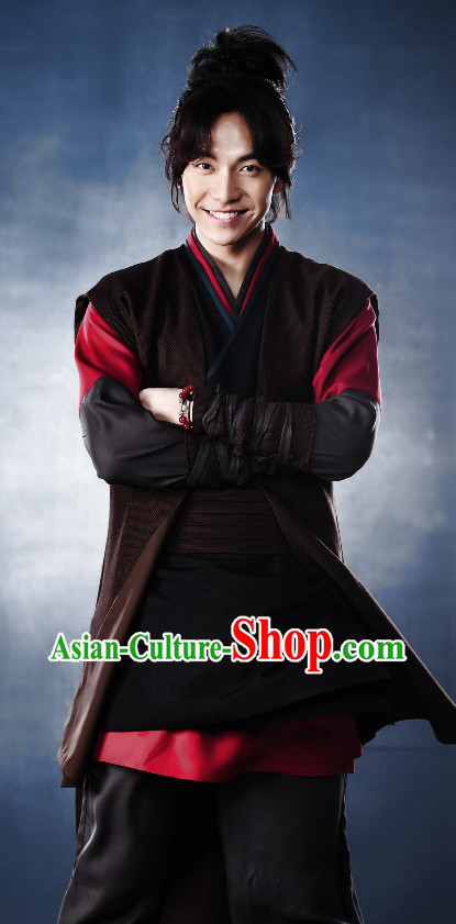 Ancient South Korean Swordsman Costumes for Men