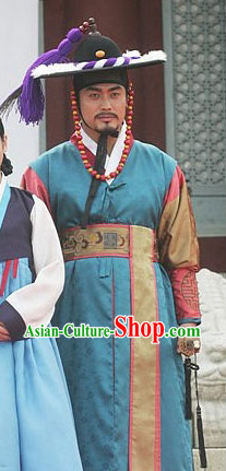 South Korean Traditional Swordsman Clothing for Men