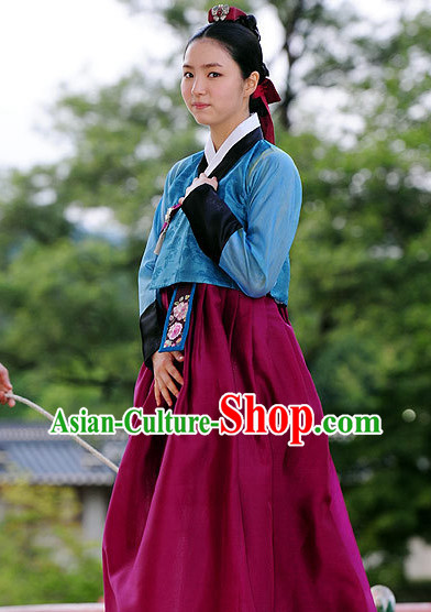 Traditional South Korean Hanbok for Women