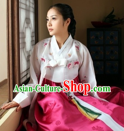South Korean Traditional Hanbok Dress for Women