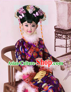 Ancient Chinese Princess Costumes for Little Girls