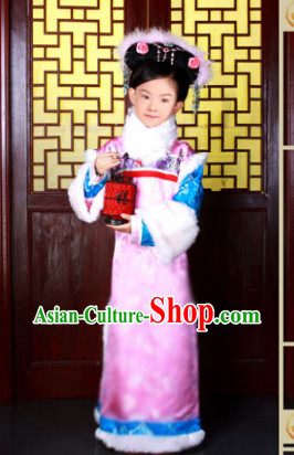 Ancient Chinese Empress Costume for Little Girls