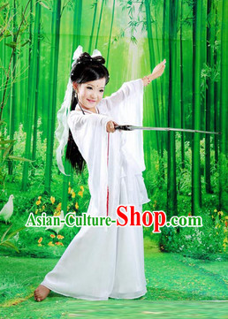 Ancient Chinese Dragon Lady Costumes for Kids