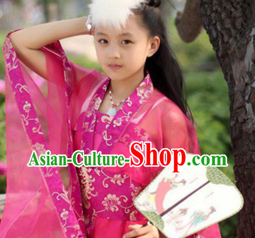 Chinese Fairy Hanfu Dress for Kids