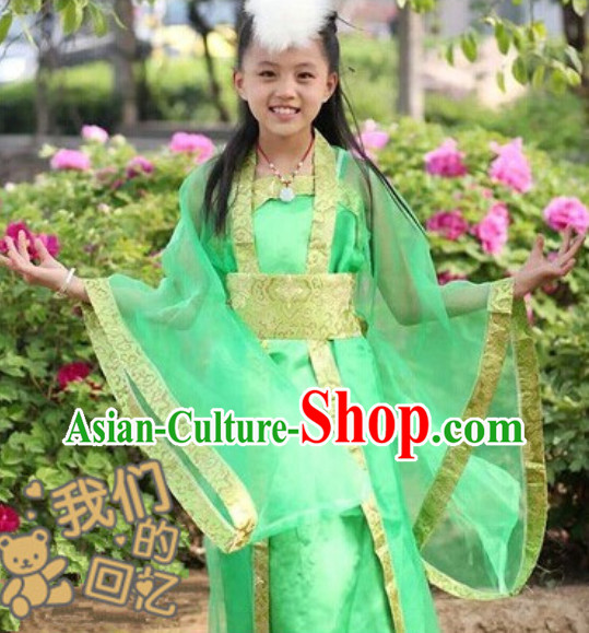 Chinese Fairy Hanfu Suit for Kids
